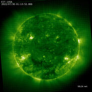 Latest image by SOHO EIT 195A