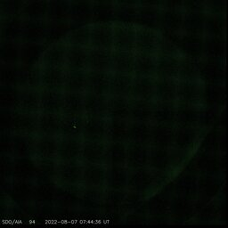Latest image from SDO AIA 94A