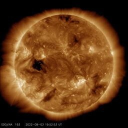 Latest image from SDO AIA 193A