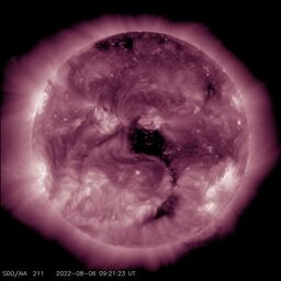 Latest image from SDO AIA 211A
