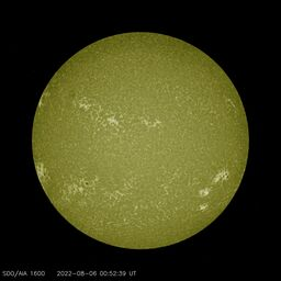 Latest image from SDO AIA 1600A